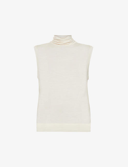 THE ROW: Bokkai turtleneck knitted top