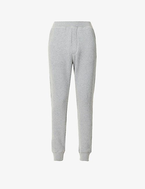DSQUARED2: Branded slim-fit cotton-blend jogging bottoms