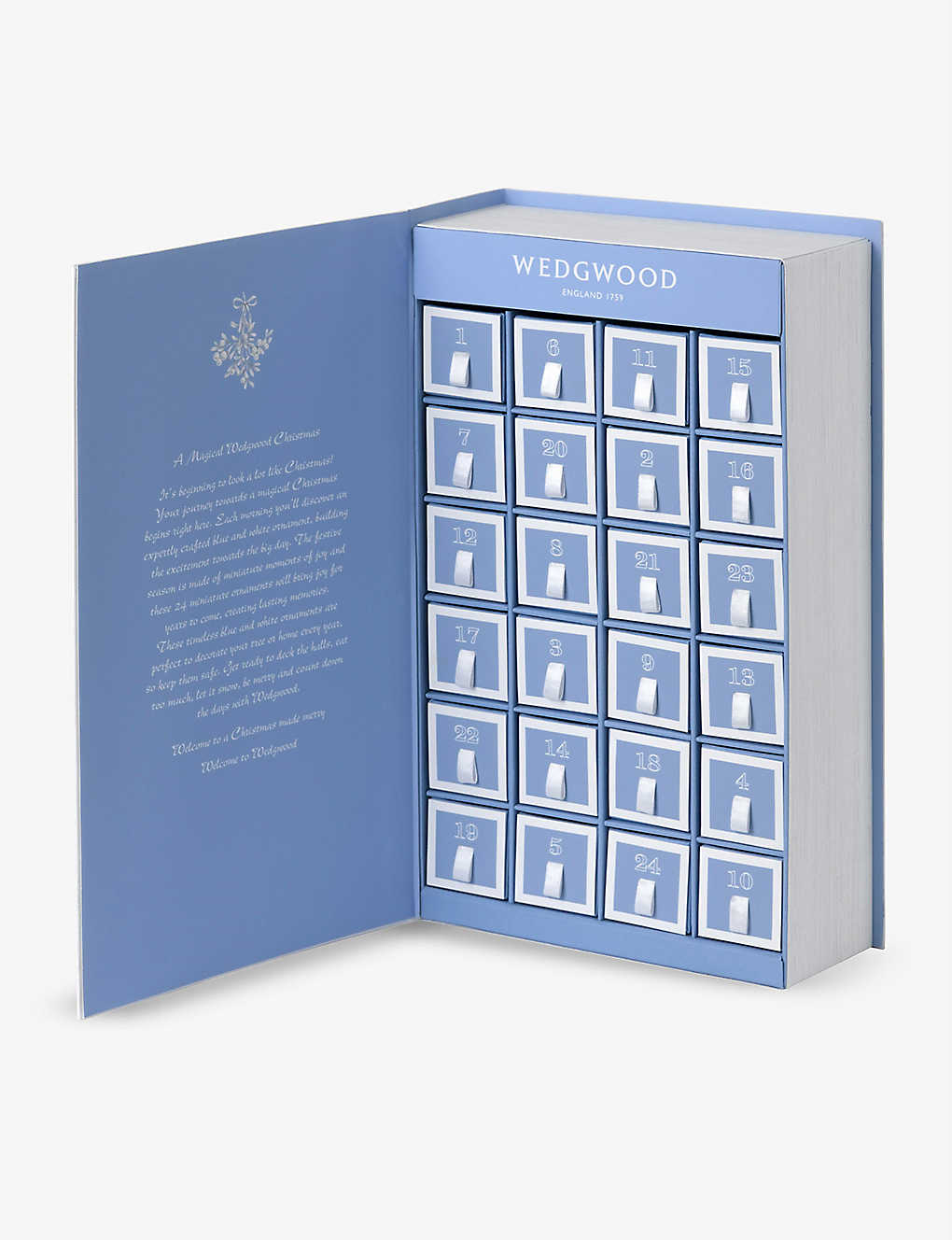 WEDGWOOD: Christmas Advent Calendar Book 2020