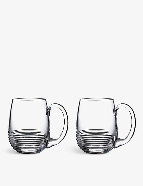 WATERFORD: Mixology Circon tankards set of two