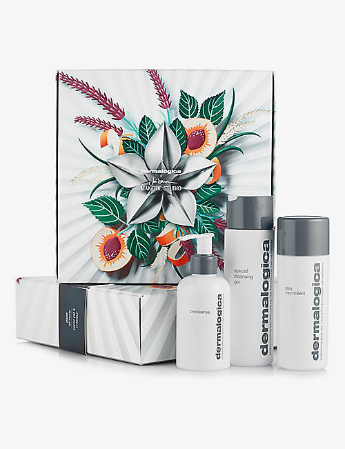 DERMALOGICA: Cleanse + Glow To Go gift set
