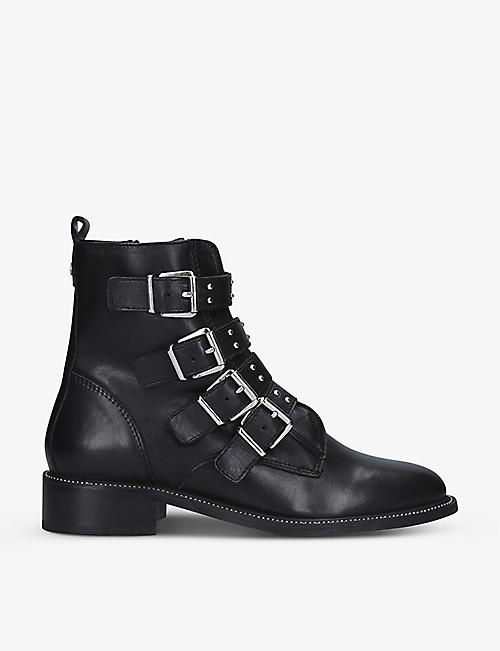 CARVELA: Strap leather ankle boots