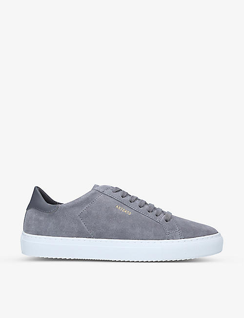 AXEL ARIGATO: Clean 90 suede low-top trainers