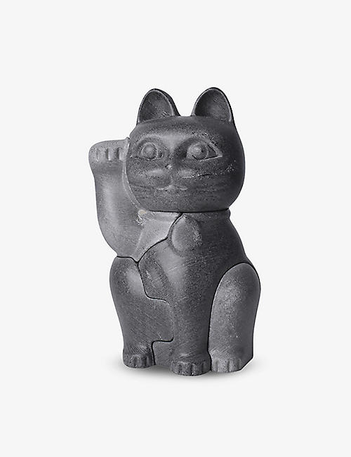 LOCKNESTERS: Maneki-Neko object and puzzle 19cm