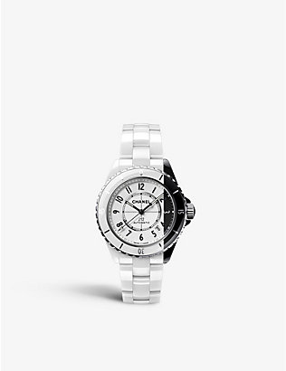 CHANEL: J12 Paradoxe two-tone ceramic and steel watch