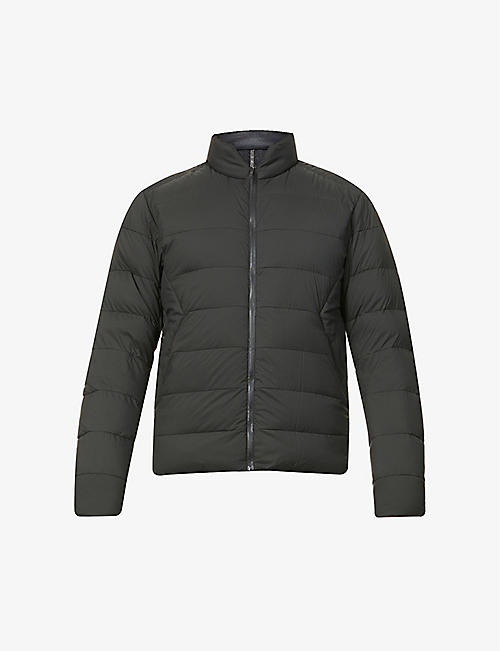 ARC'TERYX VEILANCE: Conduit funnel-neck shell-down bomber jacket