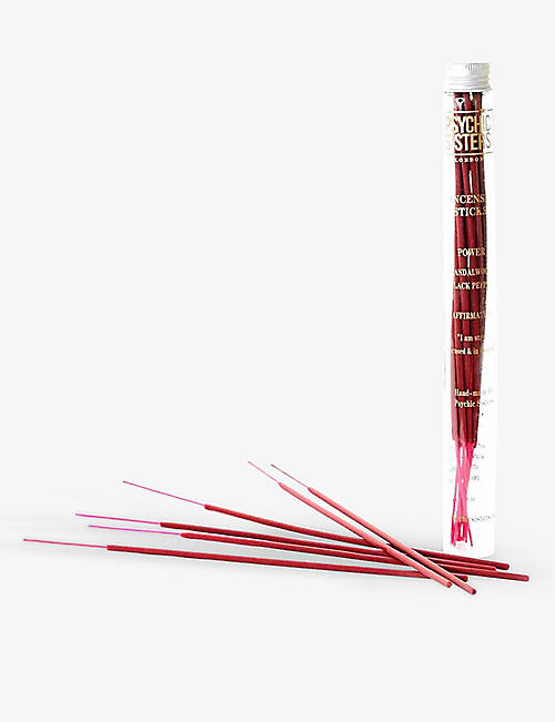PSYCHIC SISTERS: Power incense sticks pack of 14