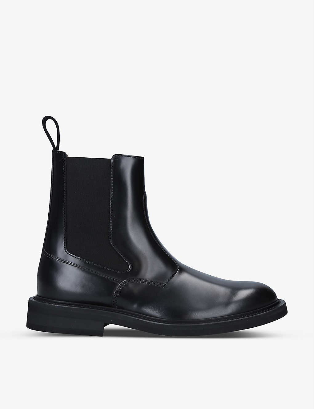 BOTTEGA VENETA: BV Level leather Chelsea boots