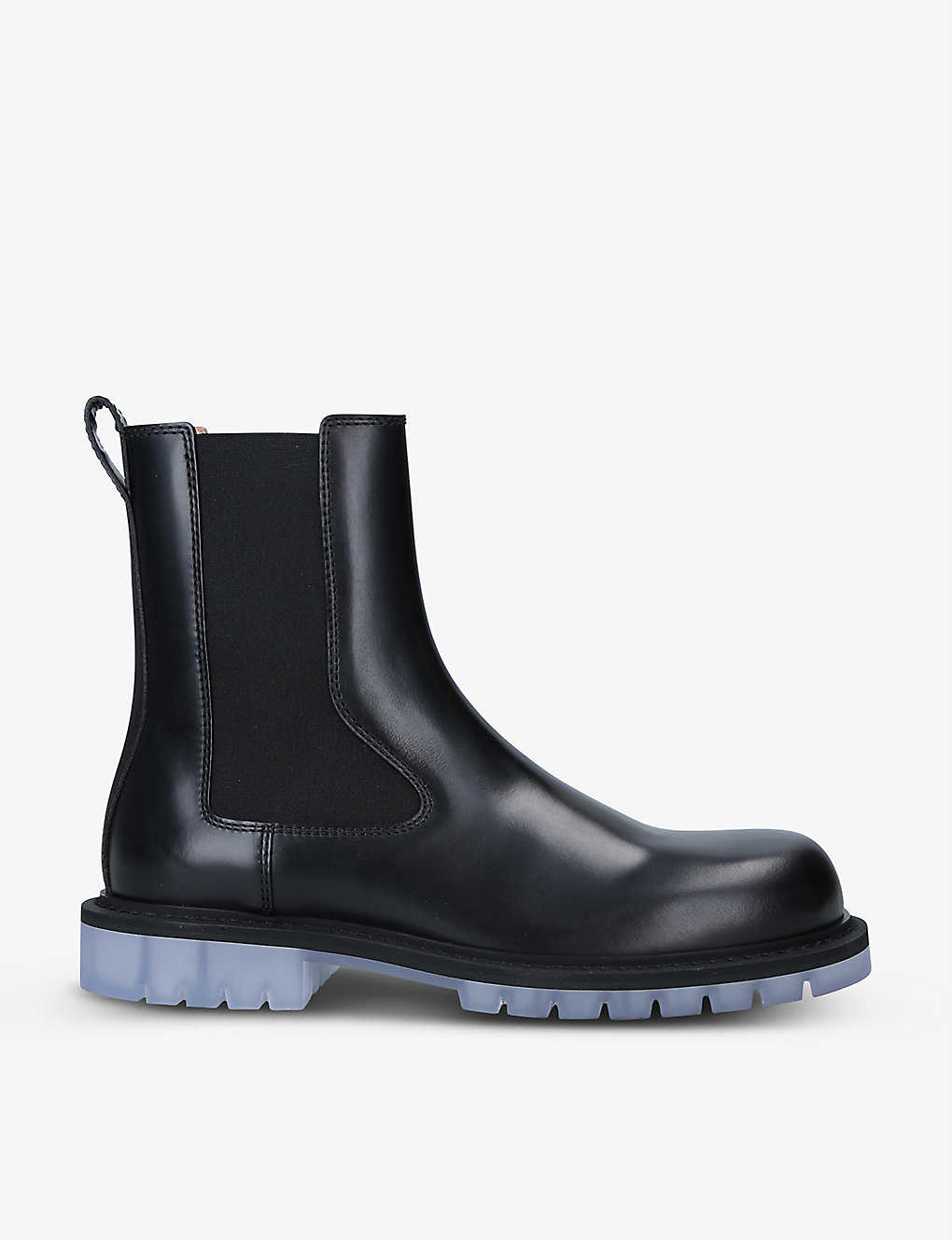 BOTTEGA VENETA: Brushed-leather Chelsea boots