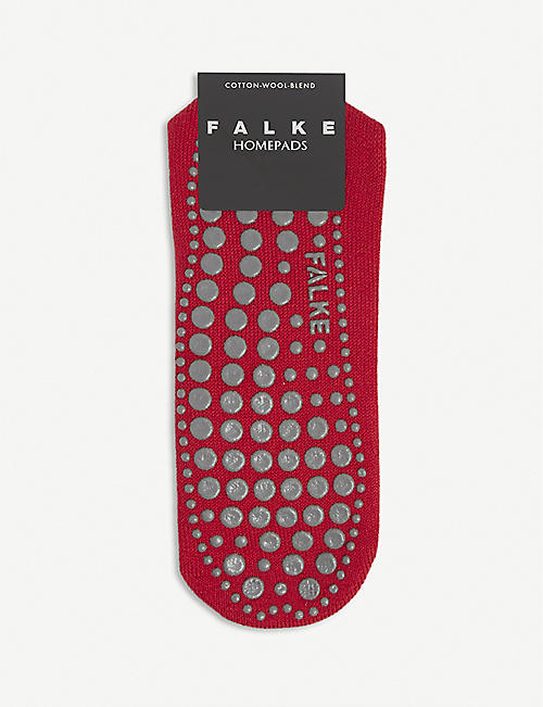 FALKE: Homepads cotton and wool-blend slipper socks