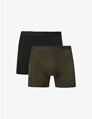 BJORN BORG: Sammy stretch-woven trunks pack of two