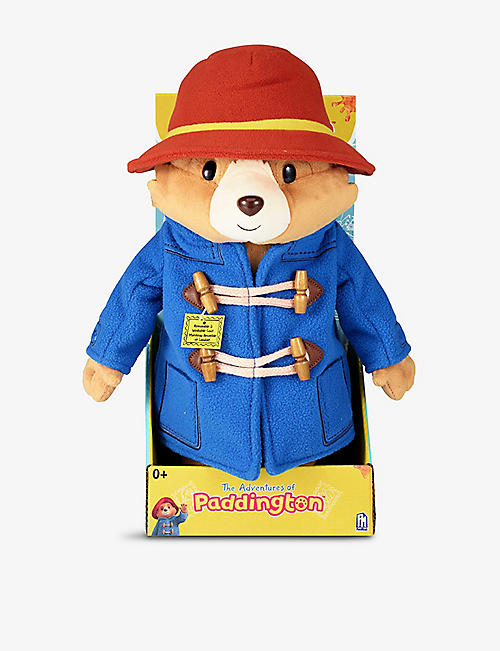 PADDINGTON BEAR: Paddington deluxe soft toy 33cm
