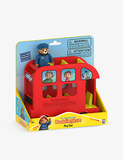 PADDINGTON BEAR: Paddington Play Bus toy 16cm