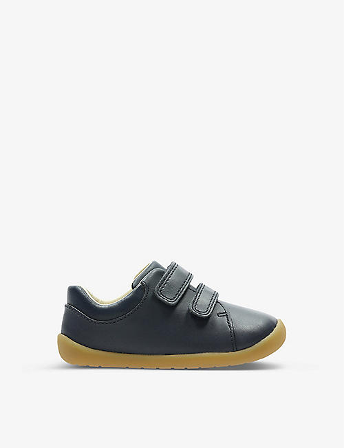 CLARKS: Crest Tuktu leather ankle boots 8-12 years