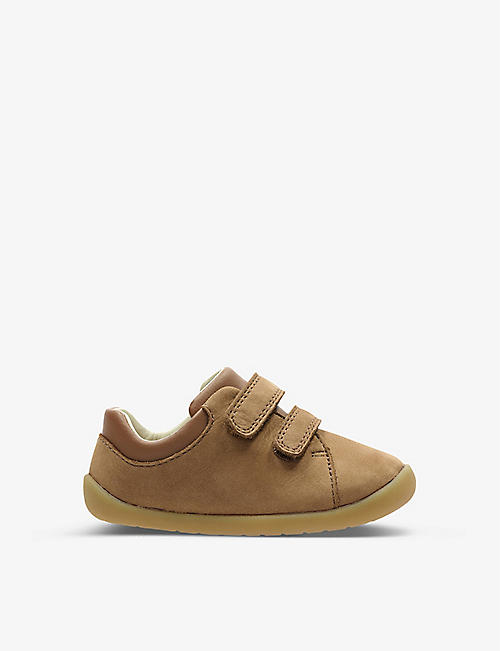 CLARKS: Roamer Craft leather ankle boots 8-12 years