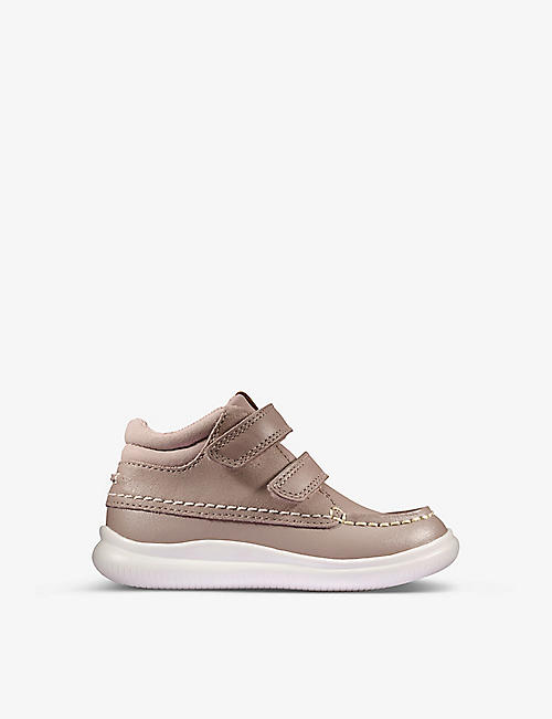 CLARKS: Tuktu leather shoes 1-4 years