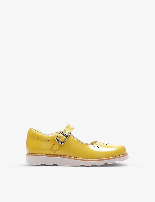 CLARKS: Crown Jump leather Mary Jane shoes 2-12 years