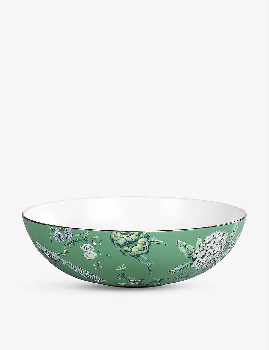 WEDGWOOD: Chinoiserie porcelain cereal bowl 18cm