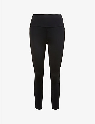 GIRLFRIEND COLLECTIVE: Compressive 7/8 high-rise stretch-recycled polyester leggings