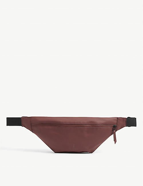 RAINS: Coated shell belt bag