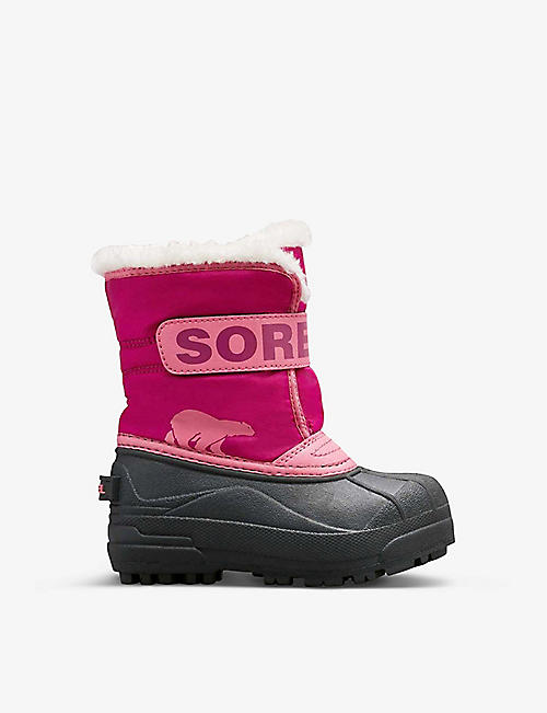 SOREL: Snow Commander shell boots 4-7 years