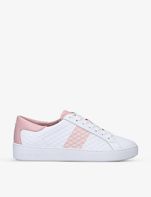 MICHAEL MICHAEL KORS: Colby quilted leather trainers