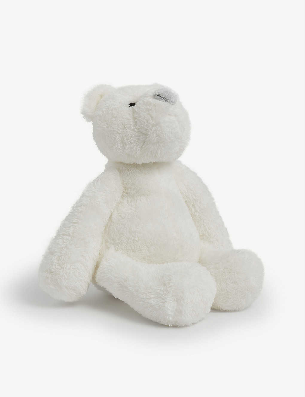 THE LITTLE WHITE COMPANY: Lumi bear soft toy
