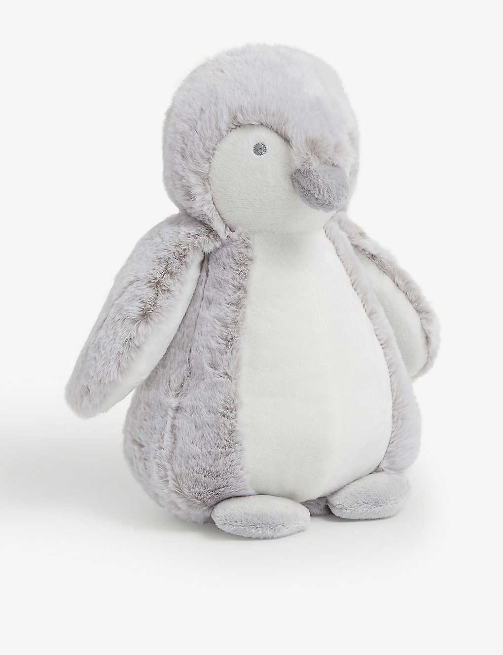 THE LITTLE WHITE COMPANY: Snowy penguin soft toy 30cm