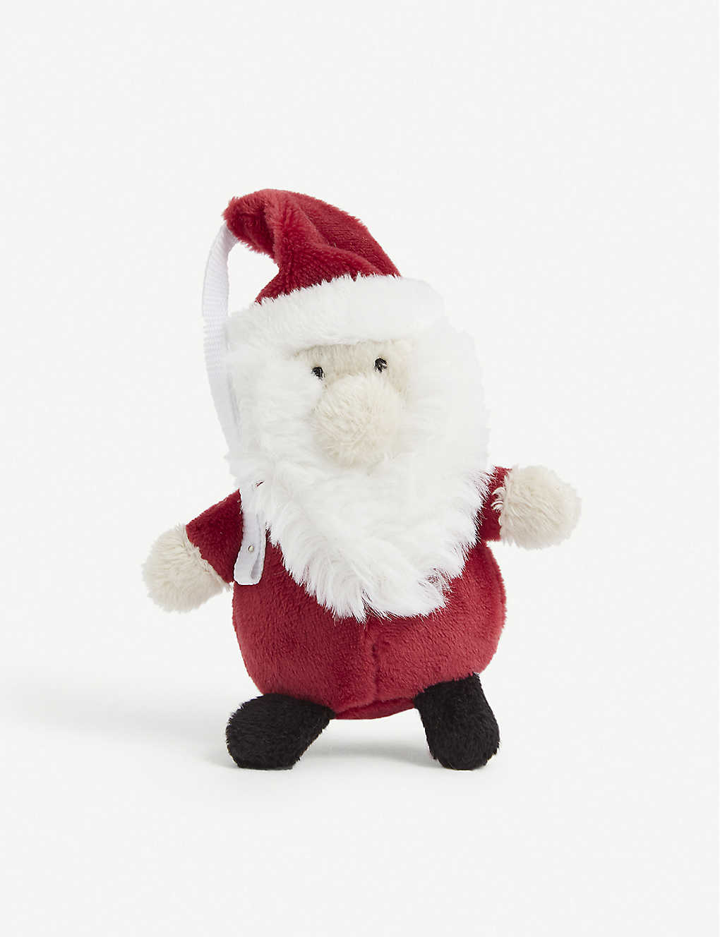 THE LITTLE WHITE COMPANY: Santa Christmas tree decoration 13cm