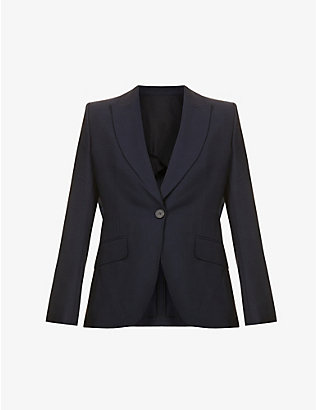SSONE: Metta wool and mohair-blend blazer