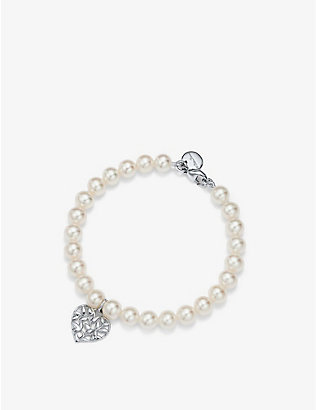 TIFFANY & CO: Paloma Picasso® sterling silver and freshwater pearl bracelet
