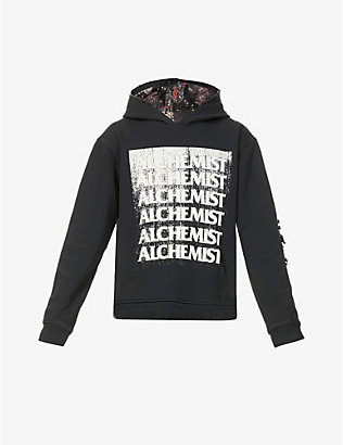 ALCHEMIST: Pretty Vacant oversized cotton-jersey hoody
