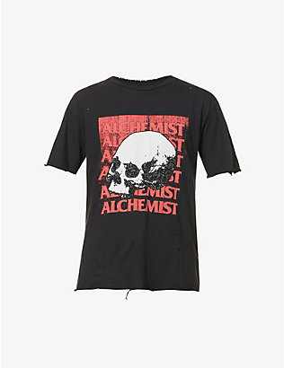 ALCHEMIST: Rise Above graphic-print cotton-jersey T-shirt