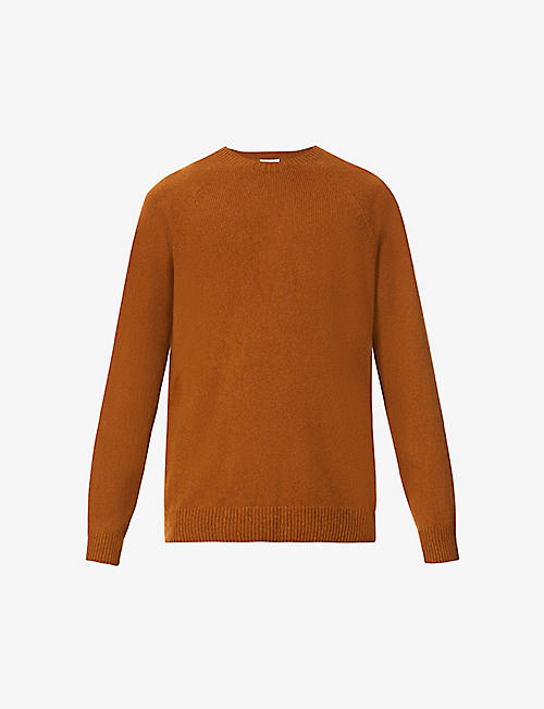 SUNSPEL: Crewneck long-sleeved wool jumper