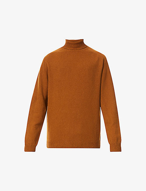 SUNSPEL: Turtleneck long-sleeved wool jumper