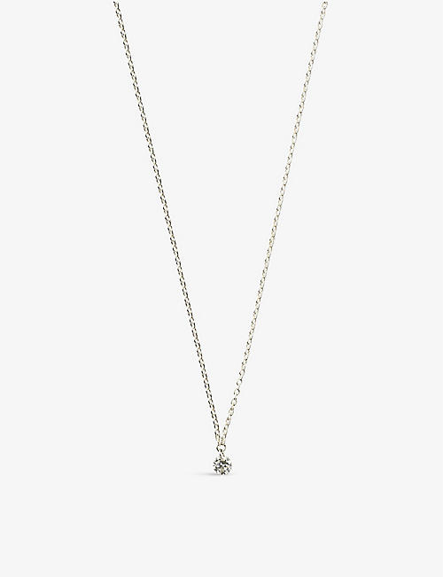 THE ALKEMISTRY: 18ct white-gold and diamond necklace