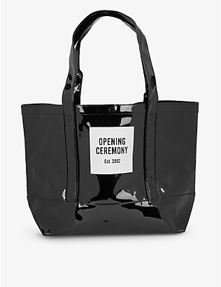 OPENING CEREMONY: Logo-print medium tote bag