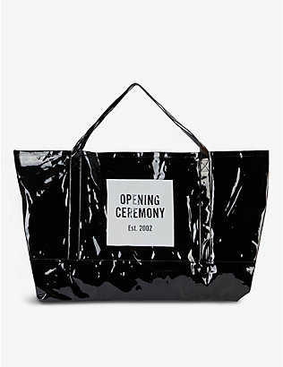 OPENING CEREMONY: Logo-print giant tote bag