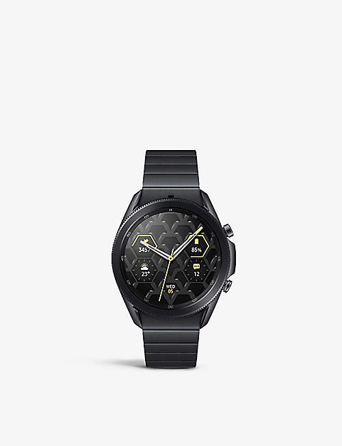SAMSUNG: Galaxy Watch3 BT titanium smartwatch