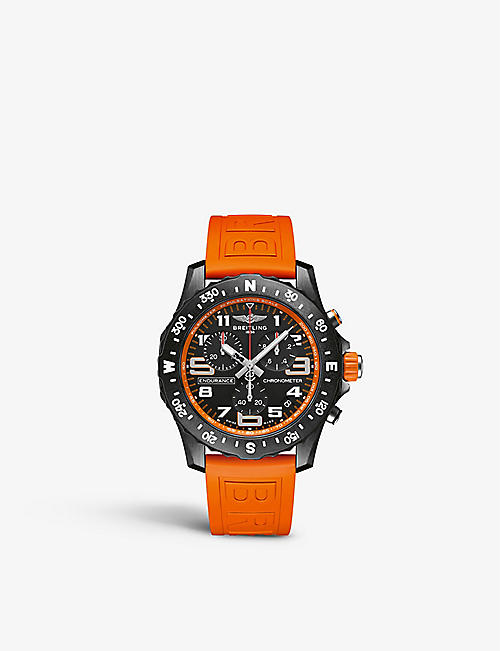 BREITLING: X82310A51B1S1 Endurance Pro Breitlight® and rubber quartz watch