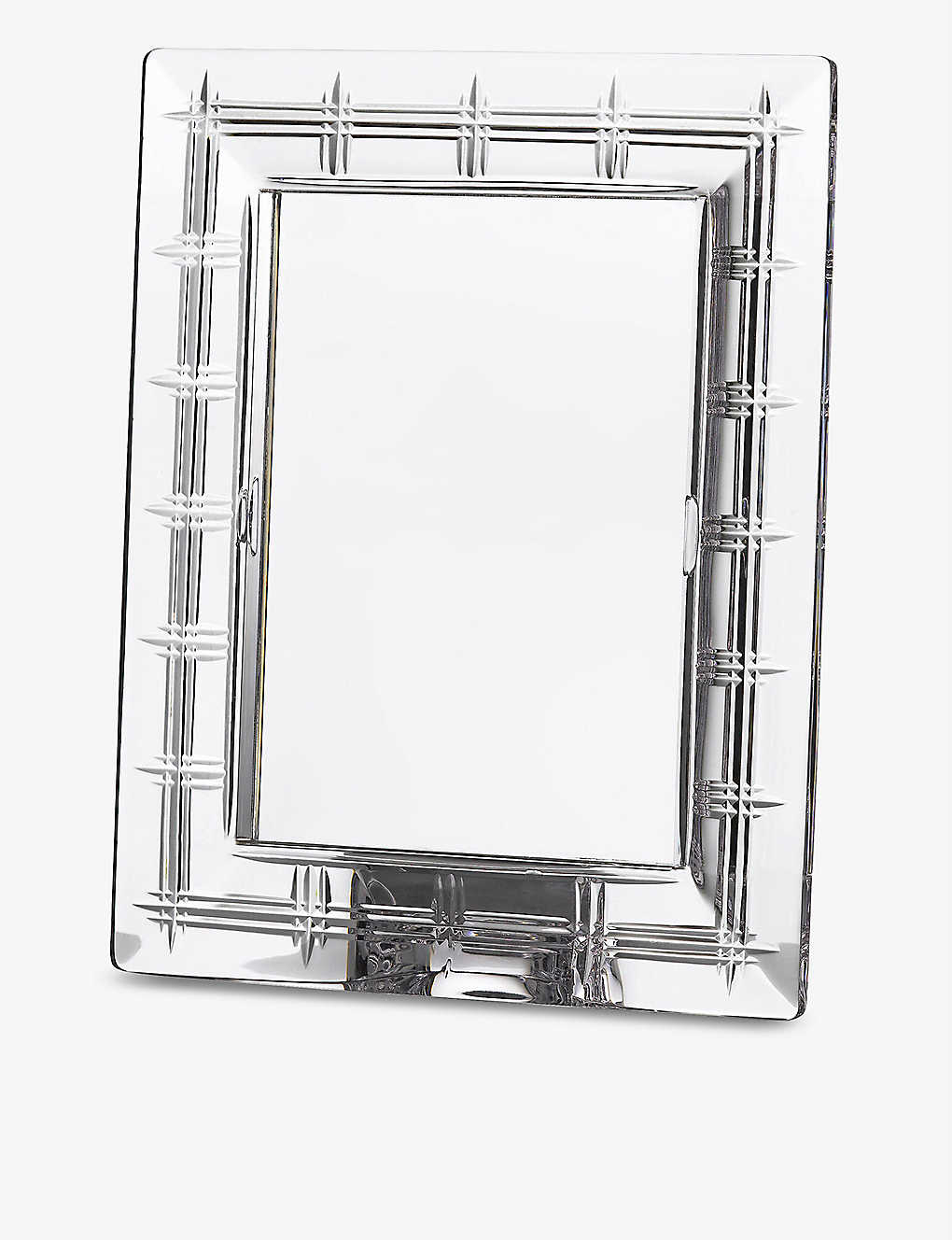 "WATERFORD: Marquis Crosby crystal photo frame 5"" x 7"""