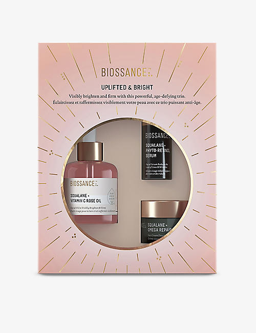 BIOSSANCE: Uplifted and Bright gift set