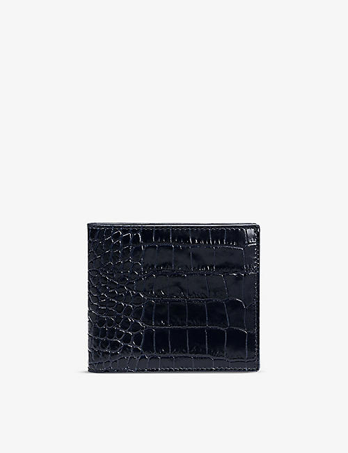 SMYTHSON: Mara six-card leather wallet