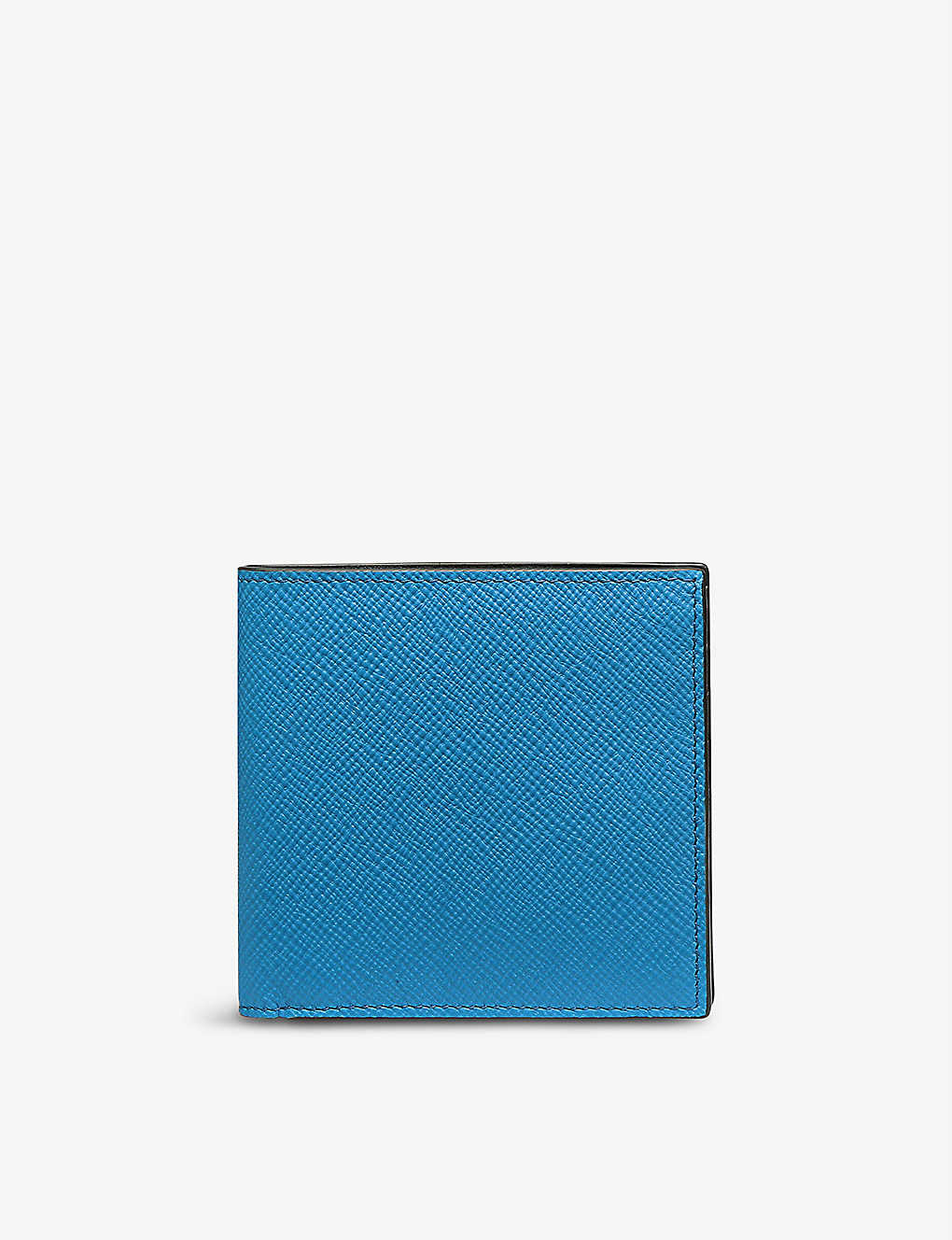 SMYTHSON: Panama eight-card leather wallet