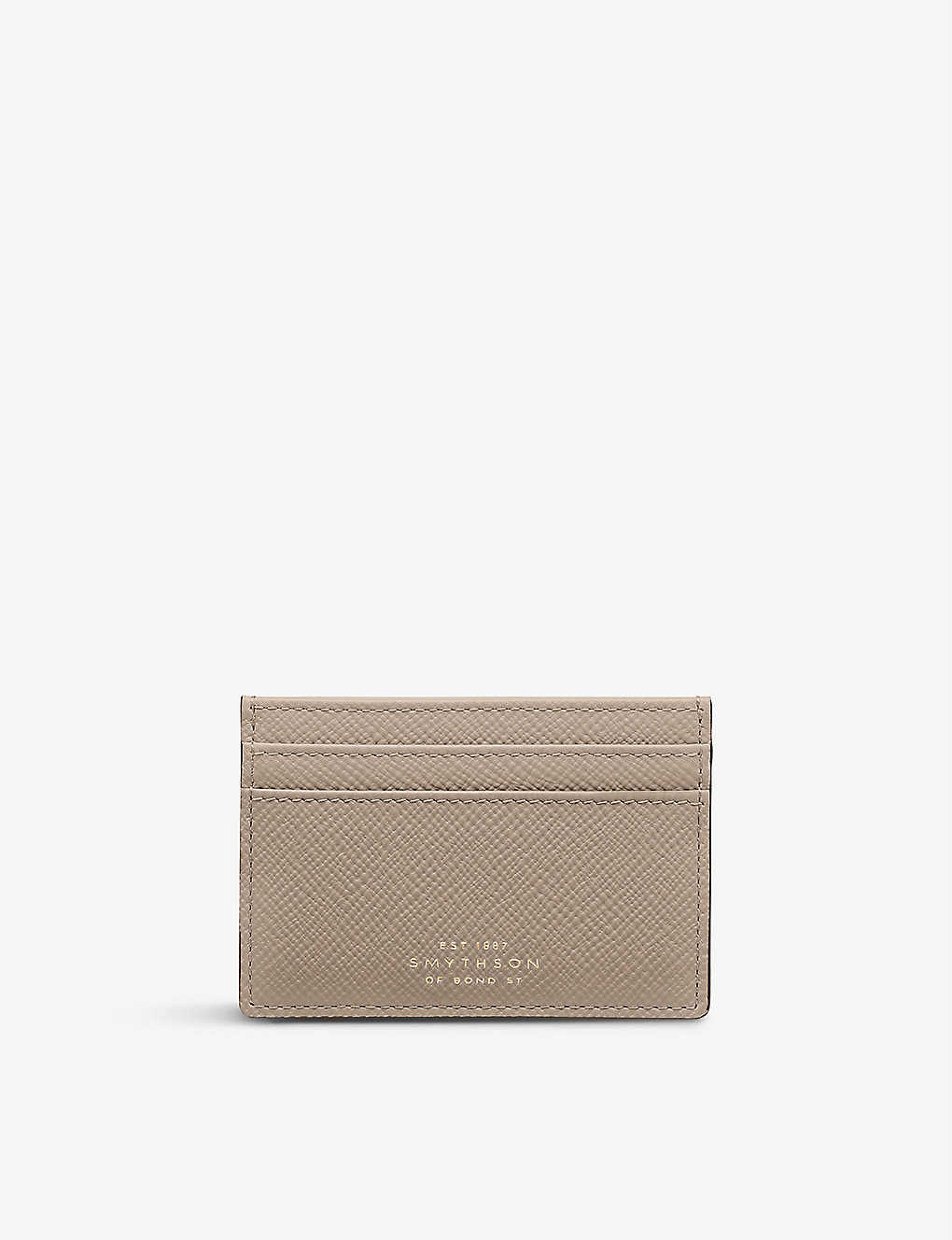 SMYTHSON: Sandstone card holder