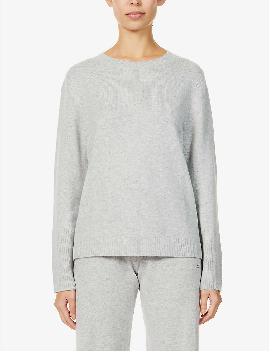 CHINTI AND PARKER: The Boxy round-neck cashmere jumper