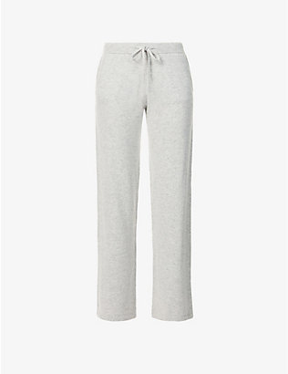 CHINTI AND PARKER: Essential wide-leg high-rise cashmere trousers