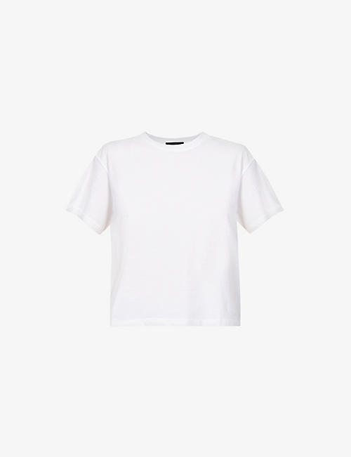 ATM: Boy round-neck cotton-jersey T-shirt