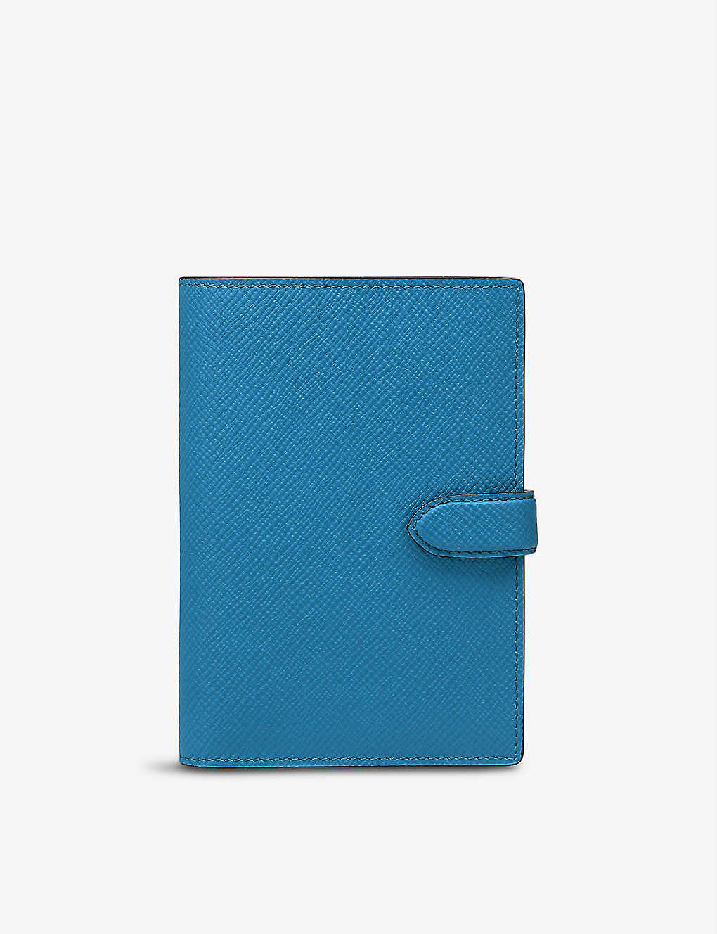 SMYTHSON: Textured-leather passport cover