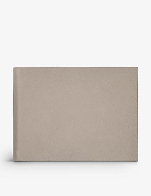 SMYTHSON: Dove small leather photograph album
